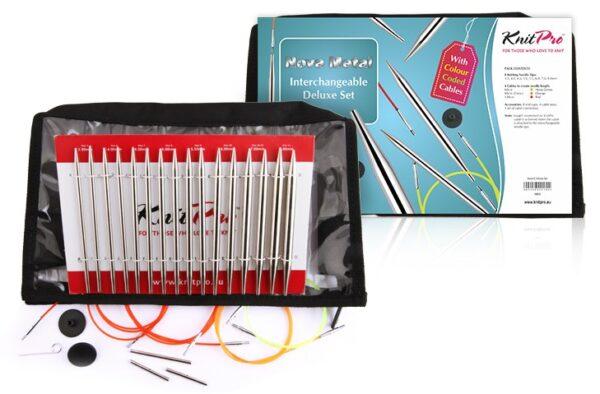 10613 Набор съемных металлических спиц Deluxe Nova Metal KnitPro