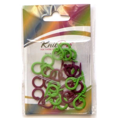 10804 Маркировочные кольца разомкнутые (30 шт)  KnitPro