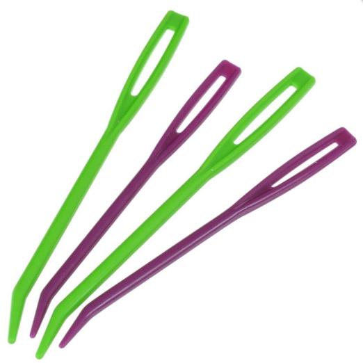 10806 Набор пластиковых гобеленовых игл (2 шт маленькие, 2 шт большие) KnitPro
