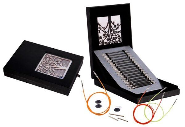 41620 Подарочный набор карбоновых спиц Karbonz Knit Pro (Box of Joy)