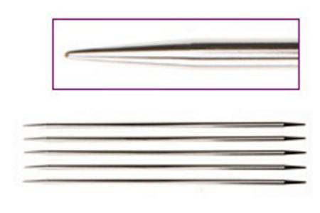 Спицы носочные 20 см Nova Metal KnitPro