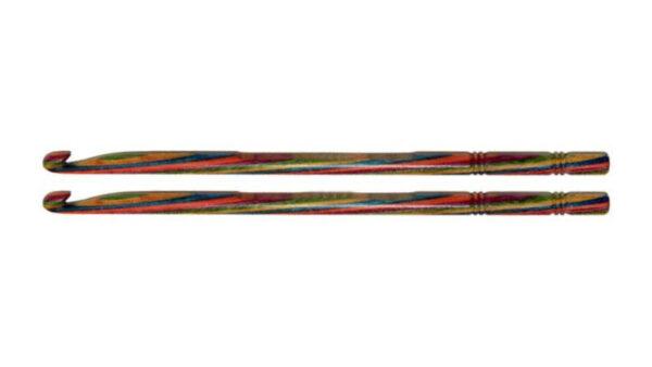 Крючок вязальный односторонний 15 см Symfonie Wood KnitPro KnitPro, 20713, 9.00 мм