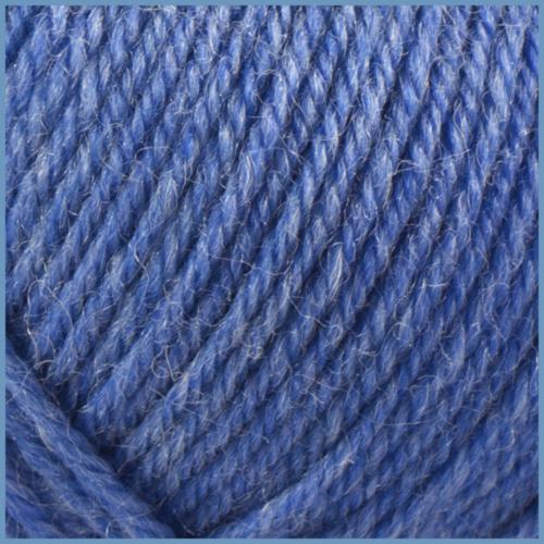 Пряжа для вязания Valencia Denim, 737 цвет, 45% шерсть, 10% хлопок, 15% нейлон, 30% акрил