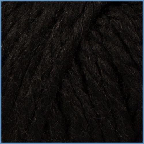 Пряжа для вязания Valencia Mango, 4203 (black) цвет, 24% шерсти, 4% кашемира, 72% акрила