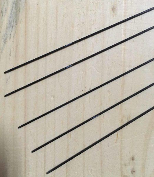 Спицы носочные 20 см Karbonz KnitPro, 41120, 1.00 мм