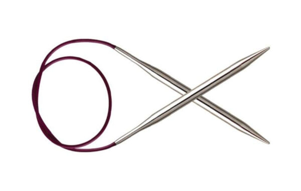 Спицы круговые 100 см Nova Metal KnitPro