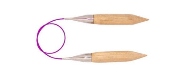 Спицы круговые 150 см Basix Birch Wood KnitPro