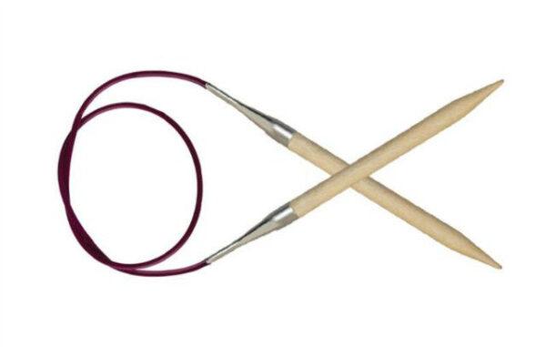 Спицы круговые 40 см Basix Birch Wood KnitPro