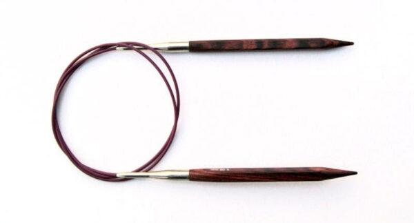 Спицы круговые 80 см Cubics Symfonie-Rose KnitPro, 25337, 6.00 мм
