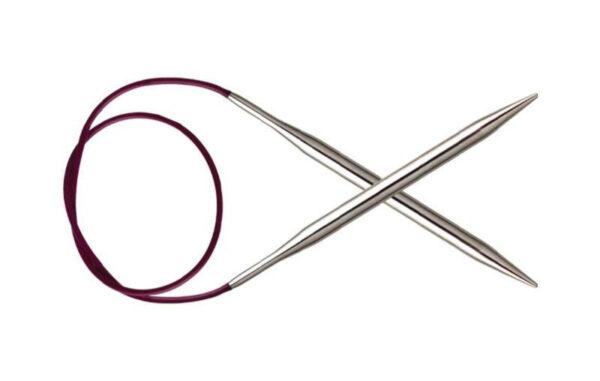 Спицы круговые 80 см Nova Metal KnitPro, 11337, 4.00 мм