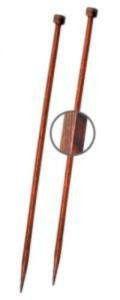 Спицы прямые 30 см Cubics Symfonie-Rose KnitPro, 25250, 6.00 мм
