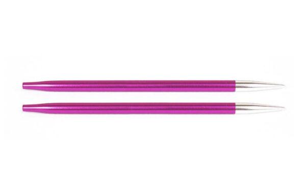 Спицы съемные короткие Zing KnitPro