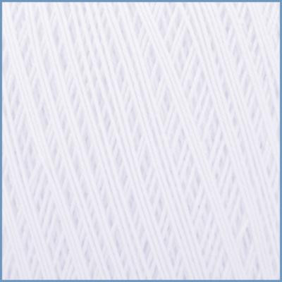 Пряжа для вязания Valencia EURO Maxi, 001 (White) цвет, 100% мерсеризованный хлопок