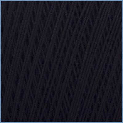 Пряжа для вязания Valencia EURO Maxi, 002 (Black) цвет, 100% мерсеризованный хлопок