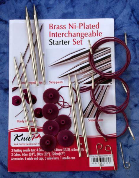 10604 Набор съемных металлических спиц для начинающих Nova Metal KnitPro
