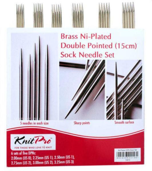10651 Набор носочных металлических спиц 15 см Nova Metal KnitPro