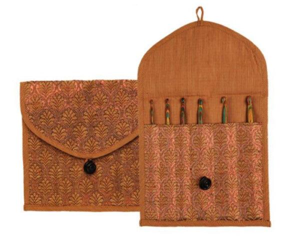 10782 Чехол для носочных спиц (15 см) и крючков Orient Sheen-SC KnitPro