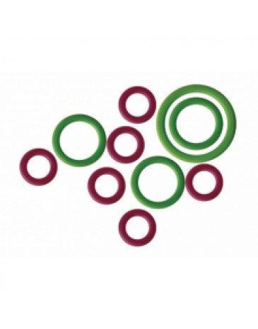 10803 Маркировочные кольца гибкие (16.5 mm - 15 шт, 10 mm - 15 шт)  KnitPro