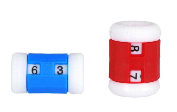 10816 Счетчики рядов 2 шт (большой и маленький) Row Counters KnitPro