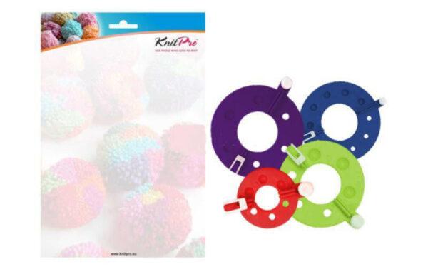 10871 Набор форм для изготовления помпонов KnitPro