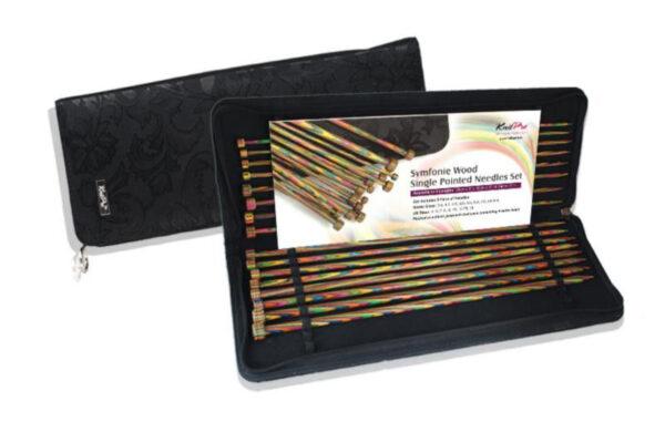 20243 Набор деревянных прямых спиц 30 см Symfonie Wood KnitPro