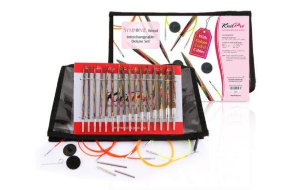 20613 Набор деревянных съемных спиц Deluxe Symfonie Wood KnitPro - СУПЕР ЦЕНА