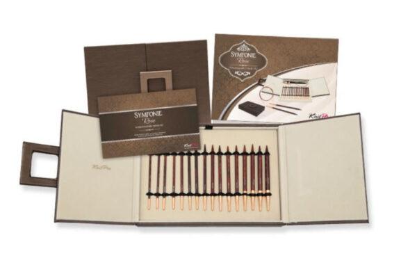 20617 Набор деревянных съемных спиц Deluxe в подарочной коробке Symfonie Rose KnitPro