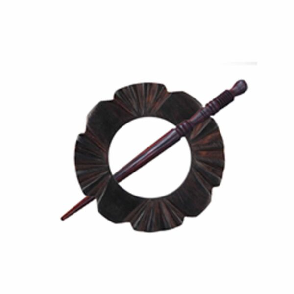 Зажим для шали с заколкой 20860 Daisy Shawl Pins with Sticks Exotica Series KnitPro