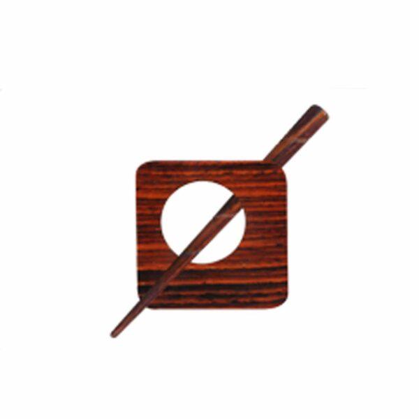 Зажим для шали с заколкой 20861 Carnation Shawl Pins with Sticks Exotica Series KnitPro
