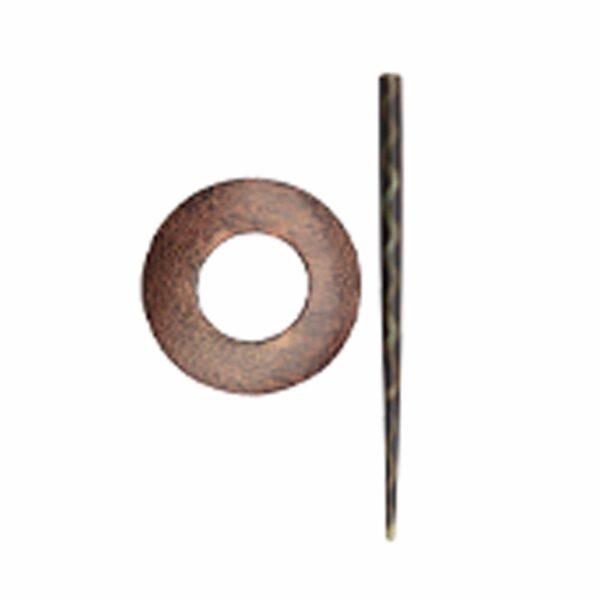 Зажим для шали с заколкой 20881 Hazel (KP005) Shawl Pins with Sticks Exotica Series KnitPro