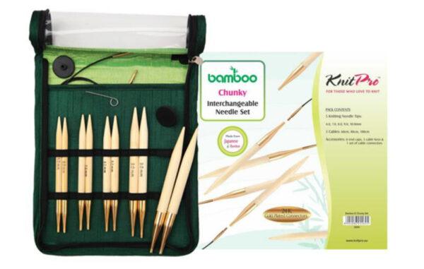 22543 Набор съёмных спиц Chunky Bamboo KnitPro