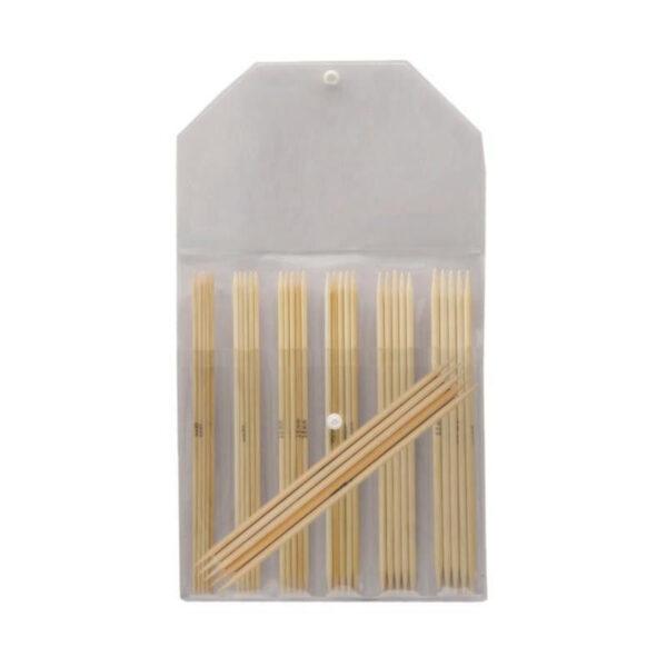 22544 Набор носочных спиц 15 см Bamboo KnitPro