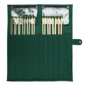 22548 Набор прямых спиц 33 см Bamboo KnitPro