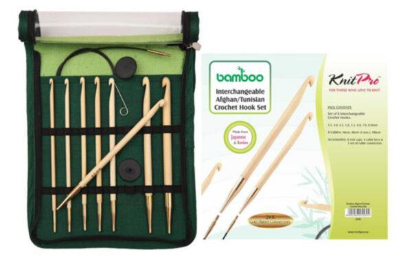22550 Набор крючков съёмных Bamboo KnitPro