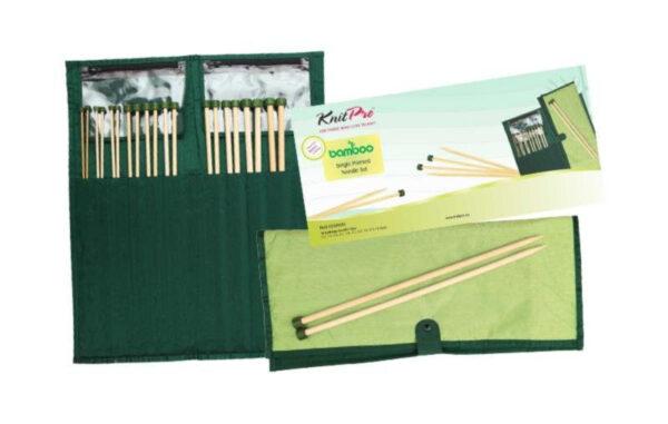 22551 Набор прямых спиц 33 см Bamboo KnitPro