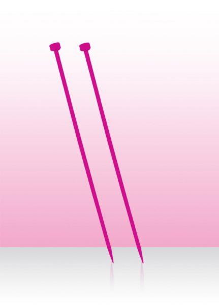 Спицы прямые 35 см Spectra Flair Acrylic KnitPro