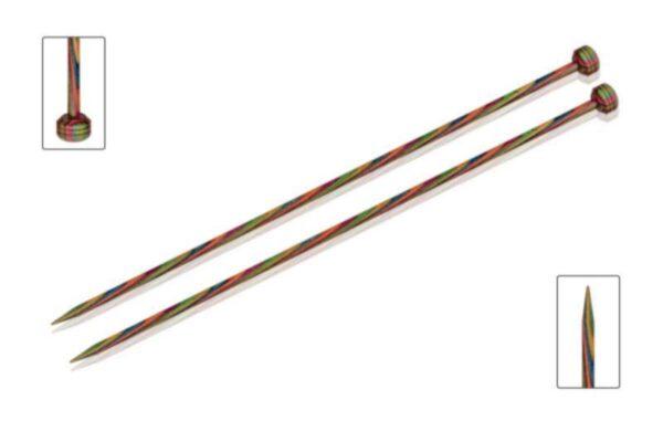 Спицы прямые 25 см Symfonie Wood KnitPro