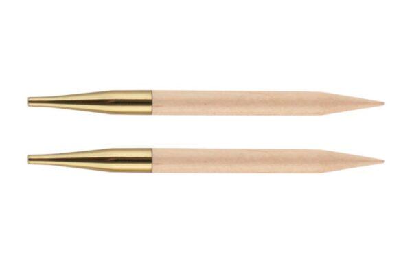 Спицы съемные короткие Basix Birch Wood KnitPro