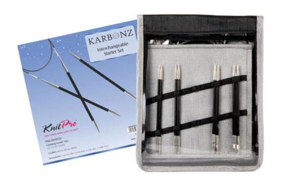 41621 Набор съемных спиц для начинающих Karbonz KnitPro