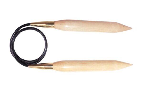 Спицы круговые 150 см Jumbo Birch KnitPro, 35808, 35.00 мм
