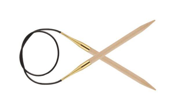 Спицы круговые 150 см Basix Birch Wood KnitPro, 35369, 15.00 мм