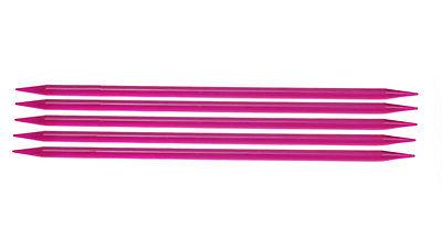 Спицы носочные 20 см Spectra Flair Acrylic KnitPro, 50114, 6.50 мм