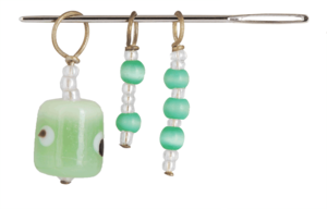 10751 Маркеры петель (3 шт) ZOONI Grape green KnitPro
