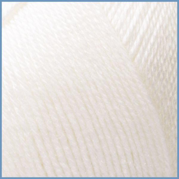 Пряжа для вязания Valencia Gaudi, 0601 (White) цвет, 12% шерсть перуанской ламы, 88% премиум акрил