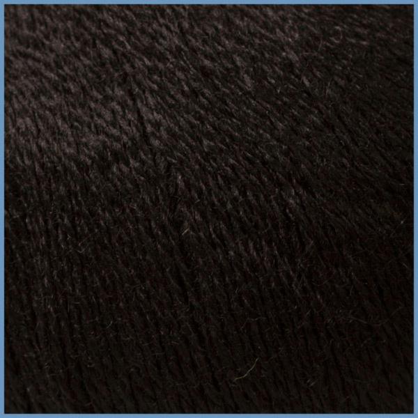 Пряжа для вязания Valencia La Costa, 620 (Black) цвет, 12% кид мохер (шерсть ягненка), 3% шелк, 42% шерсть, 43% акрил