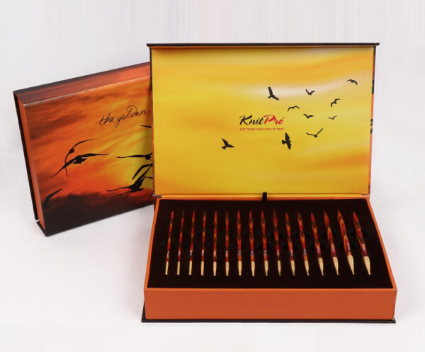 """Подарочный набор съемных круговых спиц KnitPro """"The Golden Light"""" 20635"""