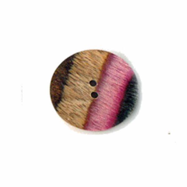 Пуговица Flat Round 28 mm Symfonie Lilac Range KnitPro