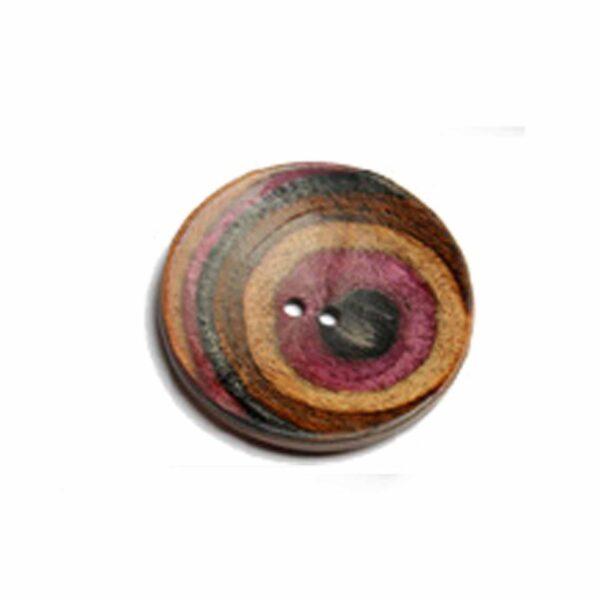 Пуговица Curved Round 44 mm Symfonie Lilac Range KnitPro