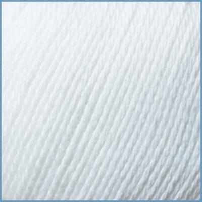 Пряжа для вязания Valencia Color Jeans, 001 цвет, 50% хлопок, 50% полиэстер