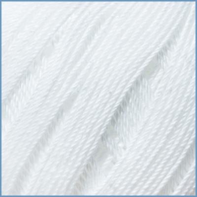 Пряжа для вязания Valencia Oscar, 001 цвет, 100% мерсеризованный египетский хлопок